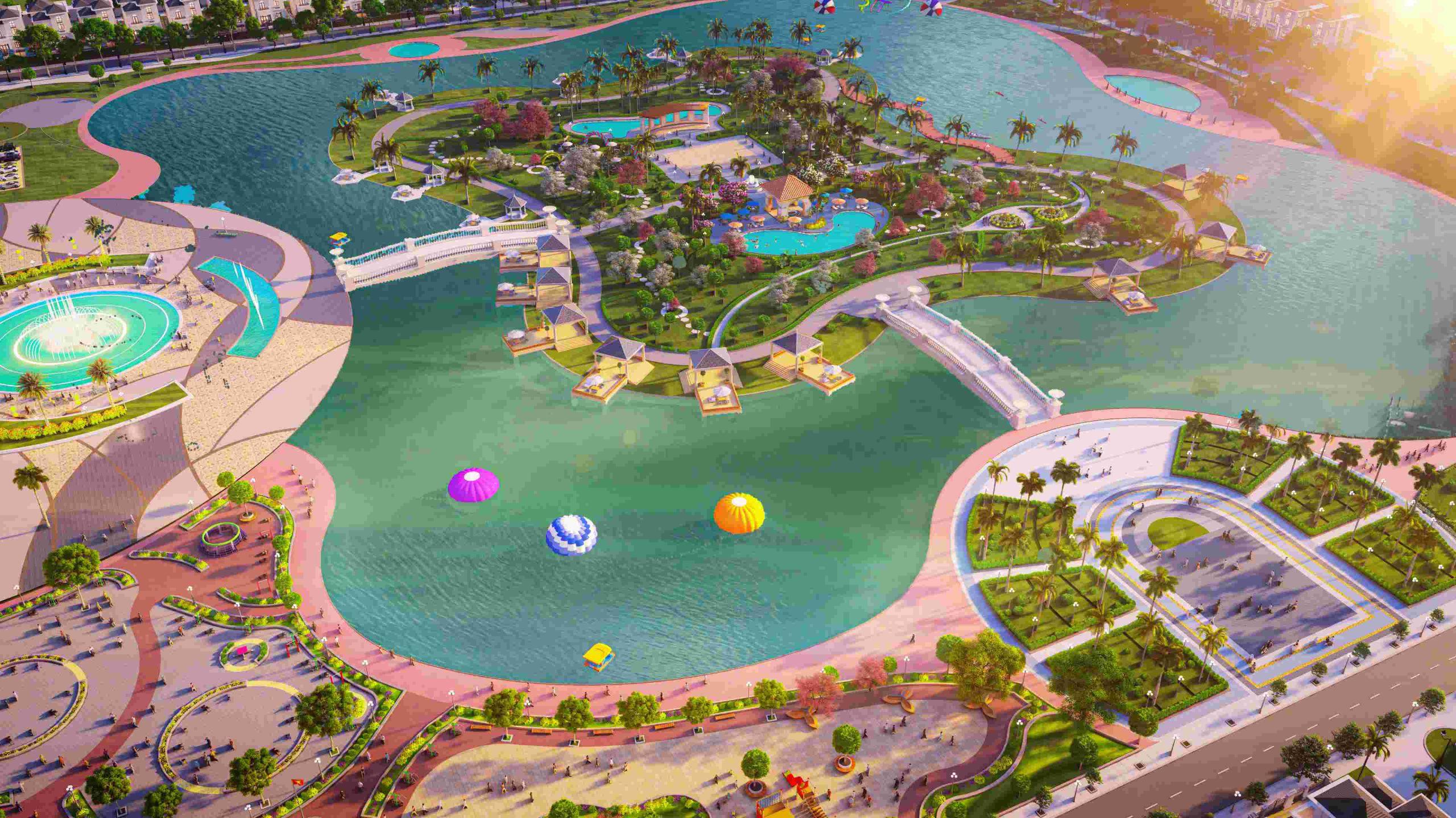 Hồ bơi và Sân thể thao